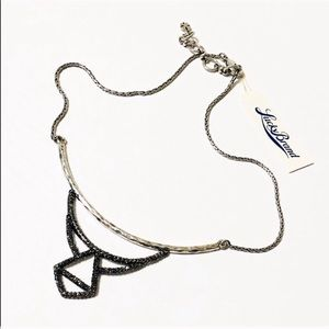 Lucky Brand Crystal Pave Reversible Necklace